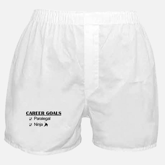 Paralegal Ninja Career Goals Boxer Shorts
