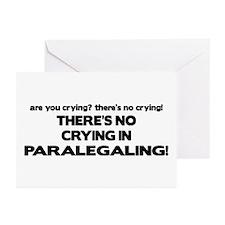 No Crying in Paralegaling Greeting Cards (Pk of 10