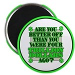 """Are you better off? 2.25"""" Magnet (100 pack)"""