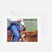 Good Saddle Fit Greeting Card