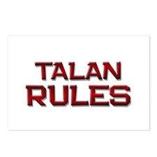talan rules Postcards (Package of 8)