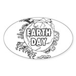 Earth Day 2011 Sticker (Oval)