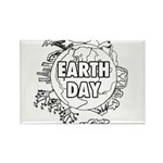 Earth Day 2011 Rectangle Magnet (10 pack)