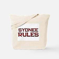 sydnee rules Tote Bag