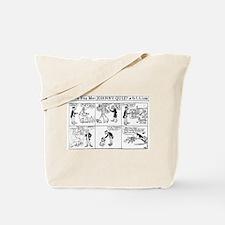 03/26/1909 - Johnny Quiz Tote Bag
