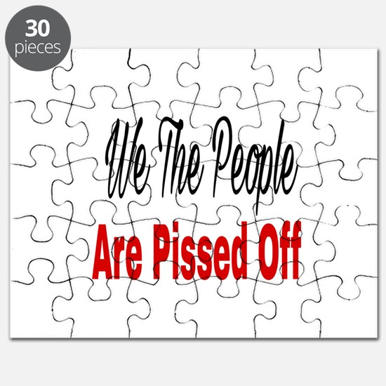 We the people are pissed off Puzzle