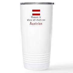 Heavenly Austrian Chefs Travel Mug