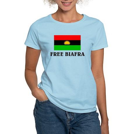 Free Biafra Women's Light T-Shirt