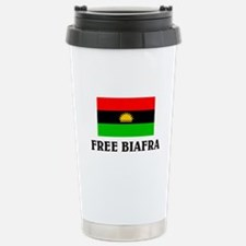 Free Biafra Stainless Steel Travel Mug