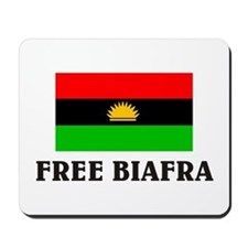 Free Biafra Mousepad