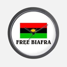 Free Biafra Wall Clock