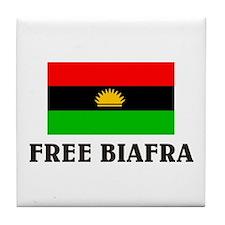 Free Biafra Tile Coaster
