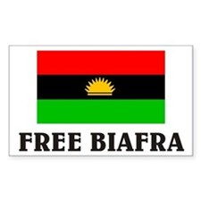 Free Biafra Rectangle Decal