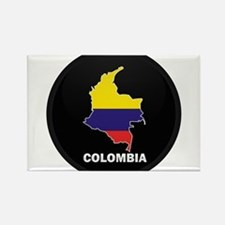 Columbia 4 Rectangle Magnet