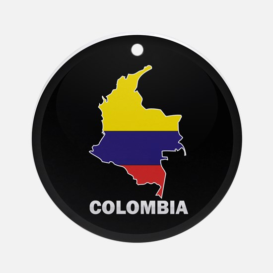 Columbia 4 Ornament (Round)