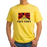 Buddha Mens Yellow T-shirts
