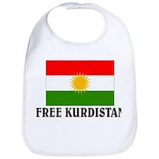Free Kurdistan Bib