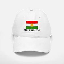 Free Kurdistan Baseball Baseball Cap