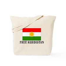 Free Kurdistan Tote Bag