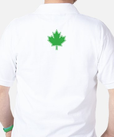 Canada Goes Green Golf Shirt (2 SIDED)