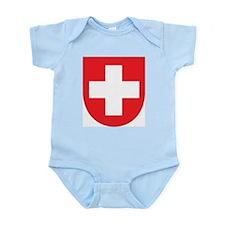 Switzerland Coat Of Arms Infant Creeper