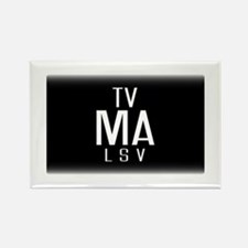 TV-MA Rectangle Magnet