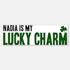 Nadia (lucky charm) Bumper Bumper Bumper Sticker