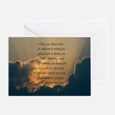 Heavenly Irish Blessing Greeting Card