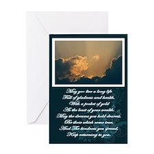 Uplifting Irish Blessing Greeting Card