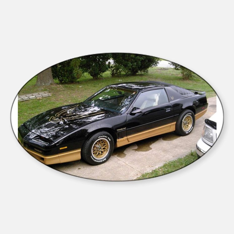 85 Trans Am Oval Decal