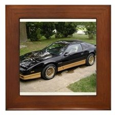 85 Trans Am Framed Tile