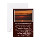 Irish blessing Greeting Cards (10 Pack)