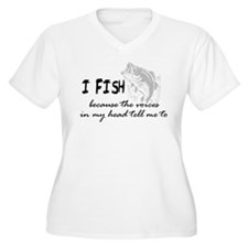 I Fish - Voices In My Head Tell Me To T-Shirt