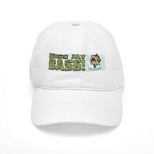 Kiss My Bass Baseball Cap