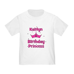 1st Birthday Princess Kaitlyn T