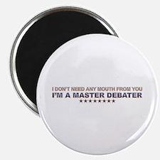 Master Debater Magnet