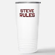 steve rules Travel Mug