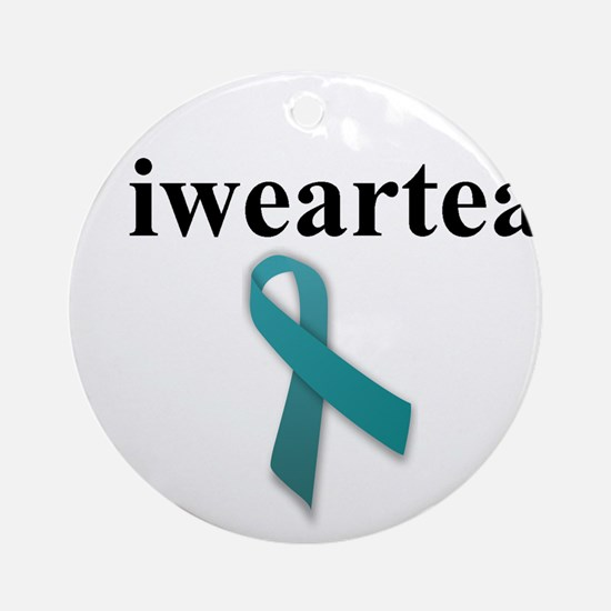 iwearteal Ornament (Round)