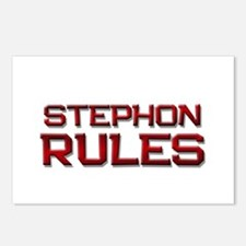 stephon rules Postcards (Package of 8)