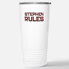 stephen rules Travel Mug