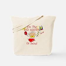 I'm The Big Sister TWINS Tote Bag