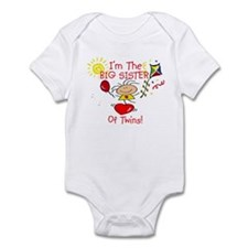 I'm The Big Sister TWINS Infant Bodysuit