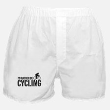 I'd Rather Be Cycling (Male) Boxer Shorts