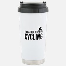 I'd Rather Be Cycling (Male) Travel Mug