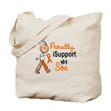 iSupport My Son SFT Orange Tote Bag