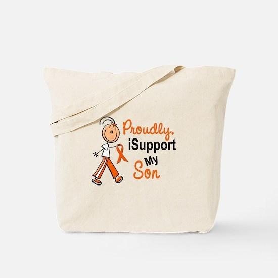 iSupport My Son SFT Orange Tote Bag