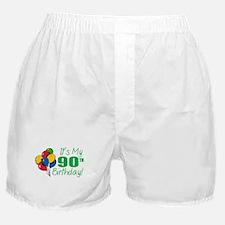 It's My 90th Birthday (Balloons) Boxer Shorts