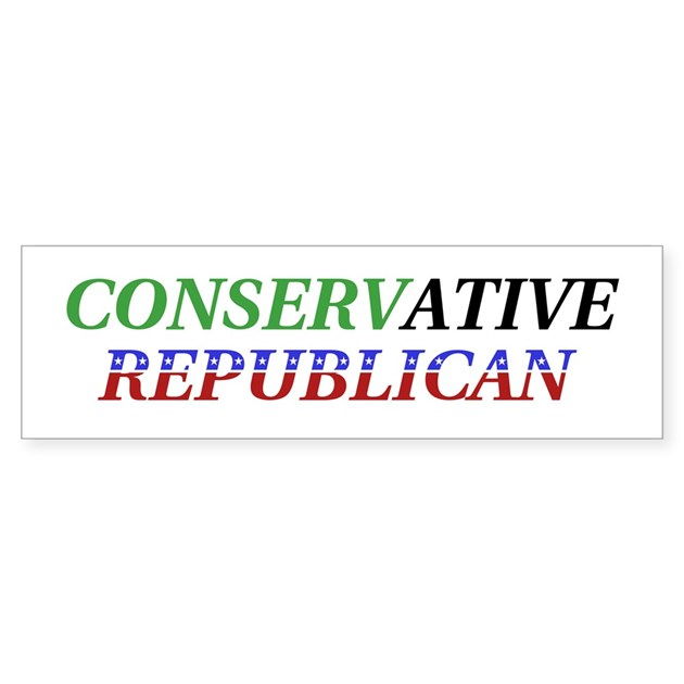 Republican Bumper Stickers Conservative Republica...