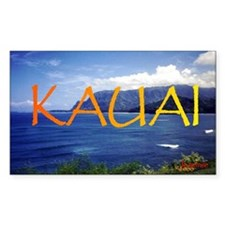 Kauai Rectangle Decal