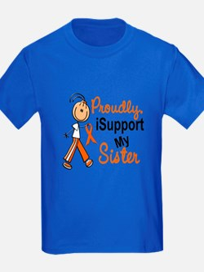 iSupport My Sister SFT Orange T